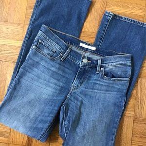 Levi's bootcut jeans. 27 x 30
